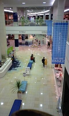 田舎のショッピングセンター