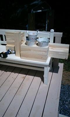 ベンチを作れのだ